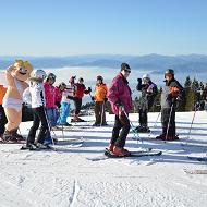 Ona-on Ski opening na Krvavcu