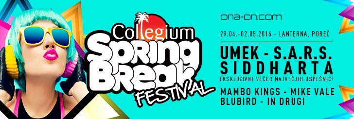 Klikni za več info! Collegium Spring Break