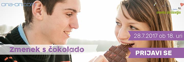 Klikni za več info! Zmenek s čokolado